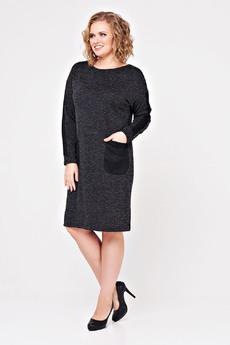Теплое платье с карманами Paola Rossi